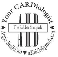 Rubber Stampede Circle Stamp